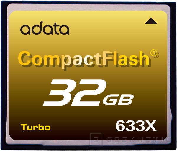 Adata presenta la CF más rápida del mercado, Imagen 1