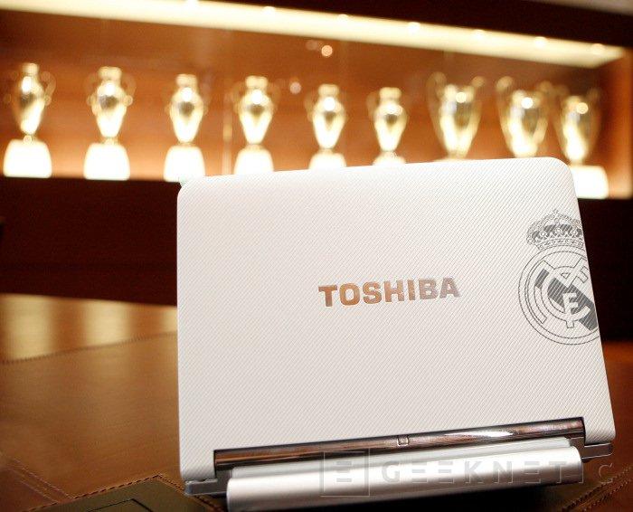 Toshiba presenta el Netbook del Real Madrid, Imagen 2