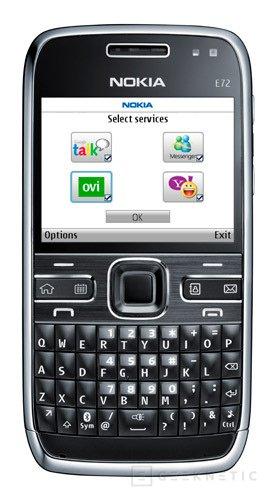 El Nokia E72 está ya disponible, Imagen 1