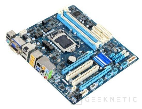 Nuevas placas Gigabyte con chipset H57, Imagen 1