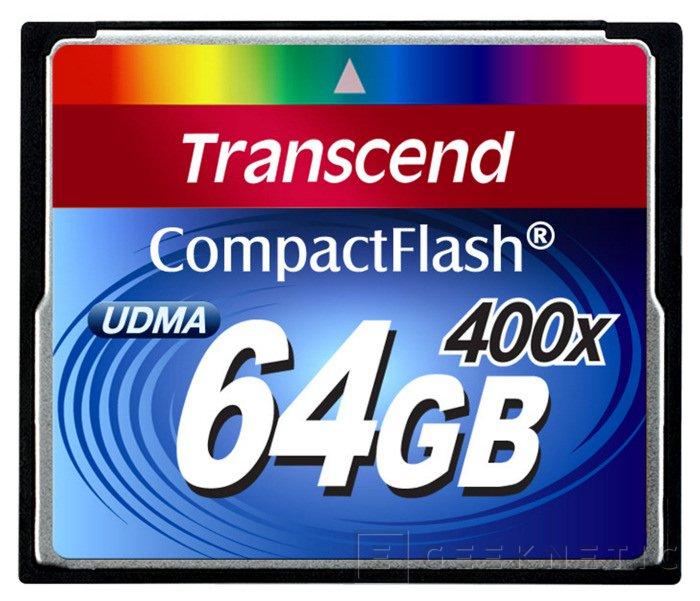 Transcend lanza nuevas memorias Flash de alta velocidad, Imagen 1