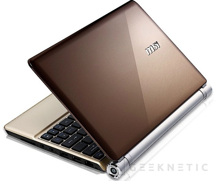 """MSI prepara nuevo netbook con """"clase"""", Imagen 1"""