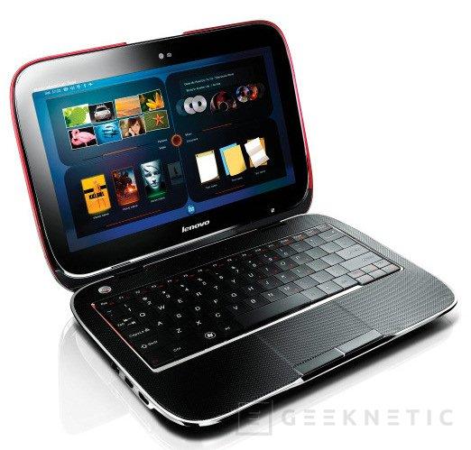 CES: Lenovo va más allá con el IdeaPad U1 Hybrid, Imagen 2