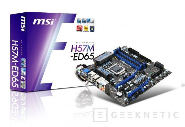 MSI presenta hoy 5 nuevos modelos de placas con chipsets H55 y H57, Imagen 1