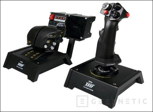 Saitek presenta el X65F. Tecnología de caza del siglo XXI en tu PC, Imagen 1