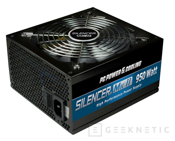 OCZ introduce la nueva Serie Silencer Mark2 de PC Power & Cooling, Imagen 1