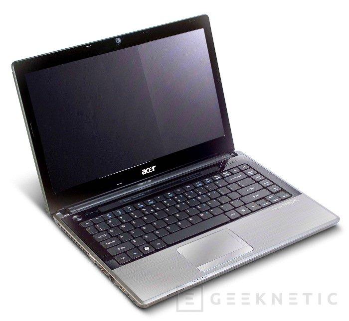 Acer confirma la gama Timeline X en España., Imagen 1