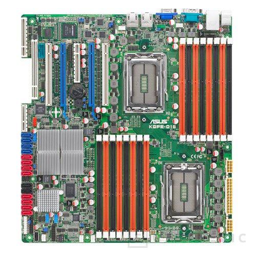 KGPE-D16. La nueva plataforma ASUS para AMD de 24 núcleos, Imagen 2