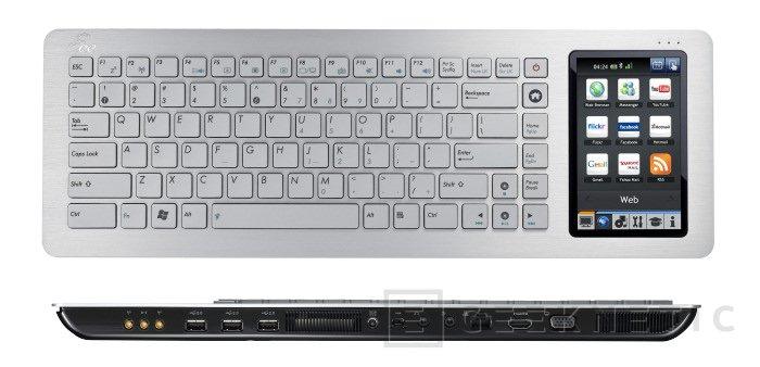 El Eee Keyboard llega a España en Junio, Imagen 1
