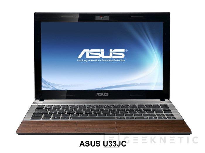 Nuevos portatiles ecologicos Serie U Bamboo Collection de ASUS, Imagen 2