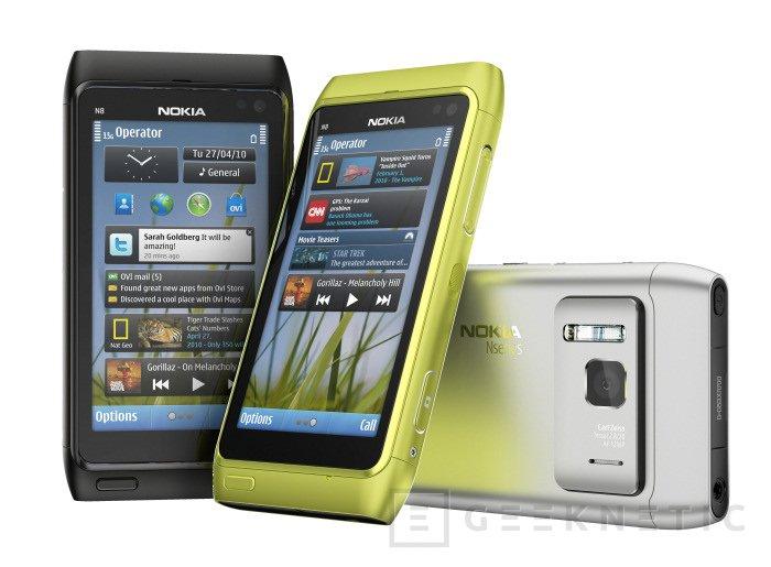 Nokia N8 es el primer dispositivo con Symbian^3, Imagen 2