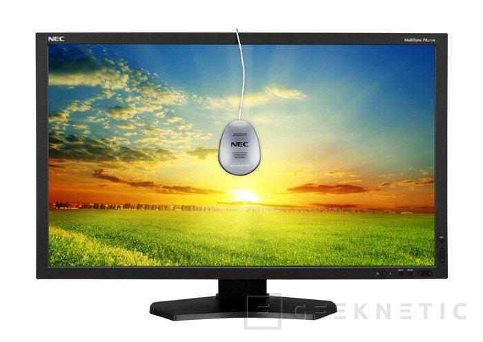 NEC Multisync PA271W. Resolución 2560x1440 en formato profesional, Imagen 1