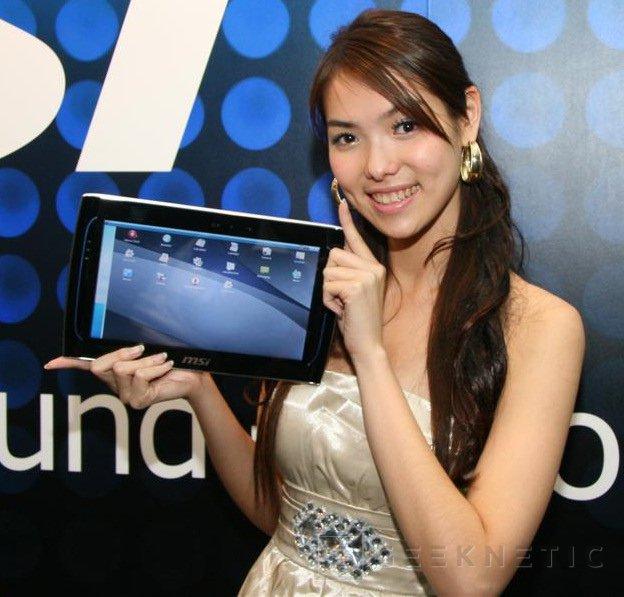 Computex 2010. MSI Wind Pad, Imagen 1