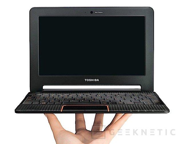 Toshiba presenta su primer Smartbook, el AC100, Imagen 1