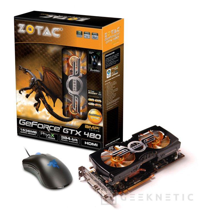 Zotac lanza una GTX edición limitada con ratón Razer incluido, Imagen 2