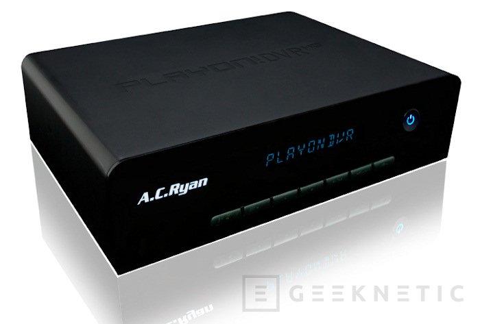 Doble sintonizador, Web Streaming y mucho más en el nuevo Playon!DVR de ACRyan, Imagen 1