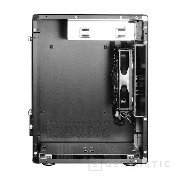 Más Mini-ITX de Lian Li. Mini-Q PC-Q11, Imagen 2