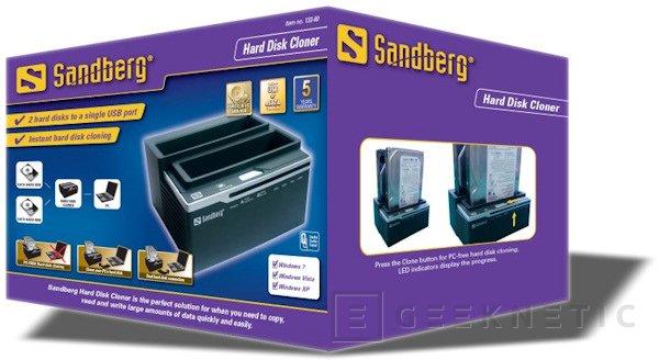Replica tus discos duros con Sandberg Hard Disk Cloner, Imagen 2