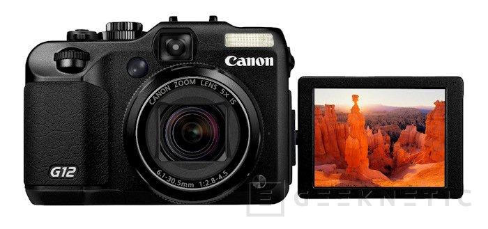 Canon presenta la nueva Powershot G12, Imagen 1
