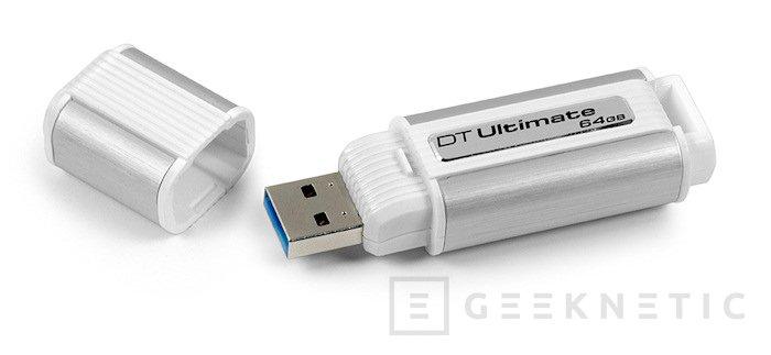 Kingston presenta el Datatraveler Ultimate 3.0, Imagen 1