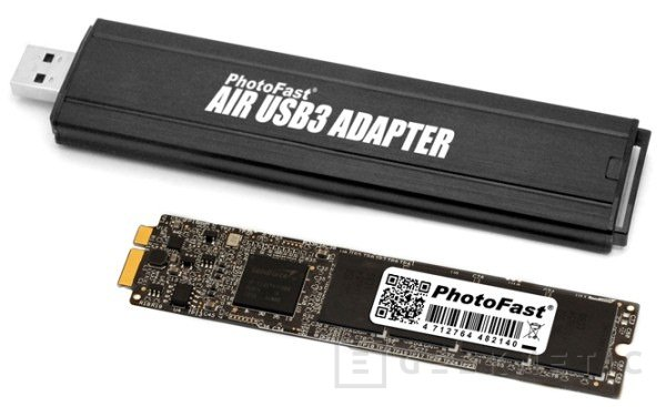 GM2 SFV1. Ampliación SSD para MacBook Air de PhotoFast, Imagen 1