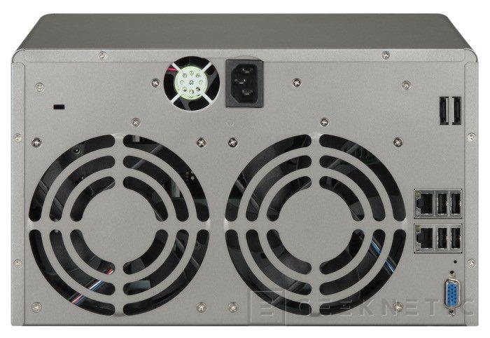 QNAP TS-859 Pro+. 16TB y procesador de doble núcleo, Imagen 2