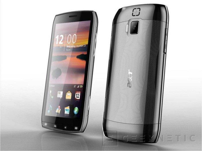 Acer va a lo grande con su nuevo Smartphone Android, Imagen 1