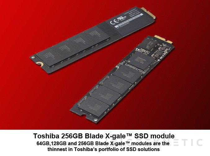 Toshiba comienza la comercialización de X-Gale, el disco SSD que da vida al Macbook AIR, Imagen 1
