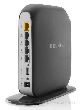 Nueva gama de routers Surf, Share and Play de Belkin, Imagen 1