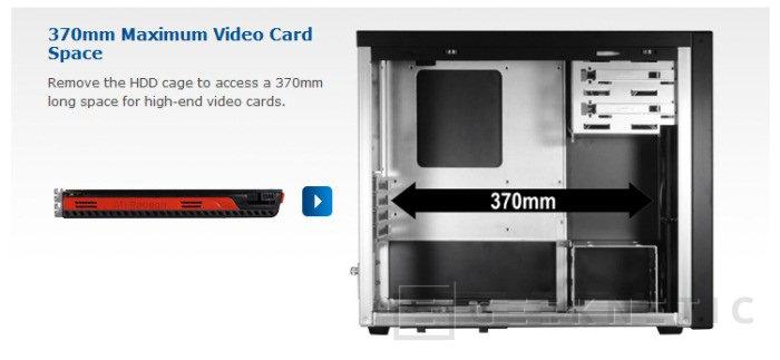"""La nueva Lian-Li """"HUGE"""" PC-A04 es la caja minitorre que busca tu gráfica, Imagen 2"""