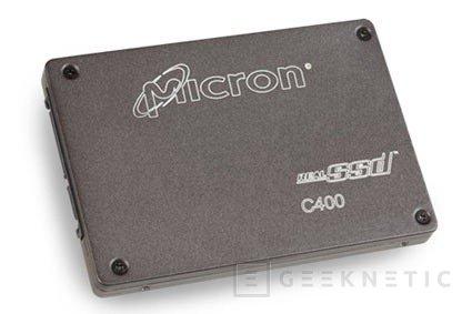 CES 2011. Micron C400 SSD Drive, Imagen 1