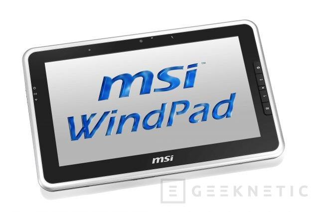 MSI WindPad 100W llegará a España a finales de Febrero, Imagen 1