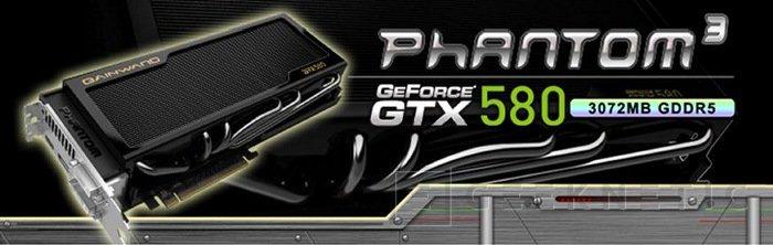 Gainward lanza la nueva Phantom GTX 580 con 3GB de RAM, Imagen 1