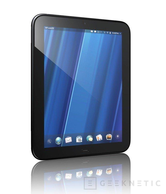 HP comienza su propia era WebOS con el nuevo TouchPad, Imagen 1