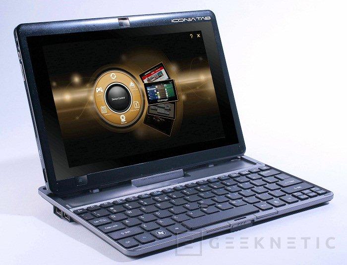 AMD Fusion en la nueva Tablet Iconia TAB W500 de Acer, Imagen 2