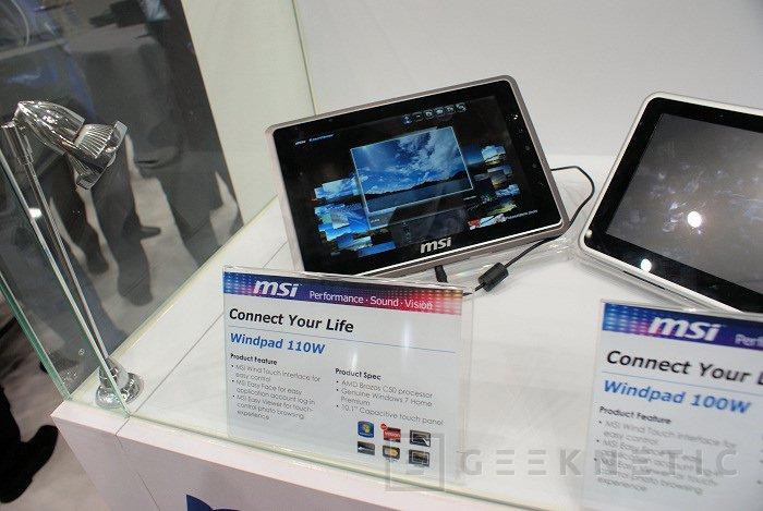 CeBit 2011: Fusion en la nueva Tablet 110W de MSI, Imagen 1