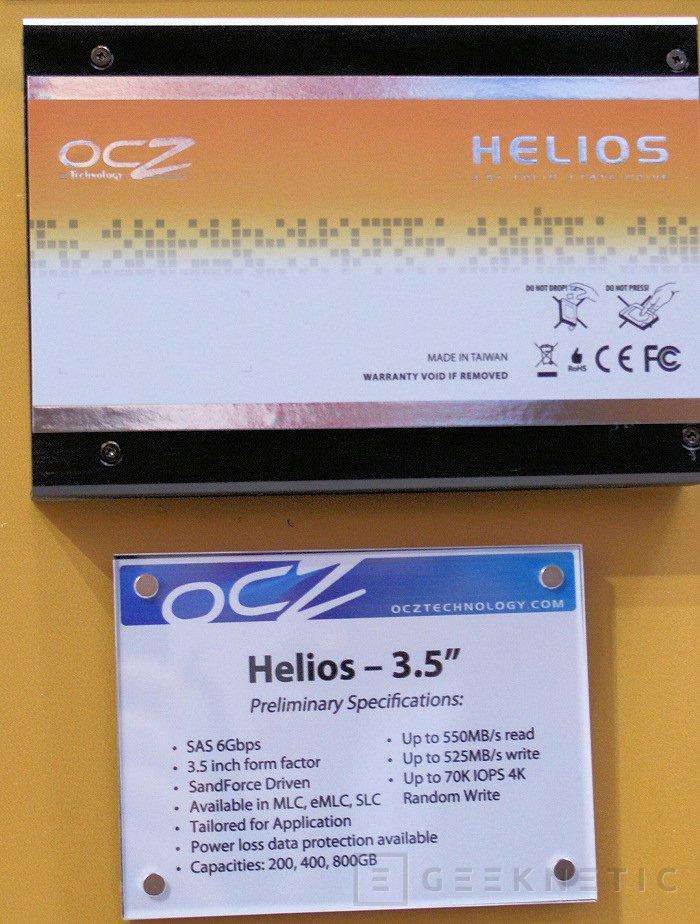 CeBit 2011: OCZ prepara la gama Helios y Deneva, Imagen 1