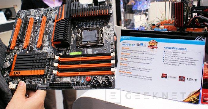 CeBit 2011: Gigabyte X58A-OC, Imagen 1