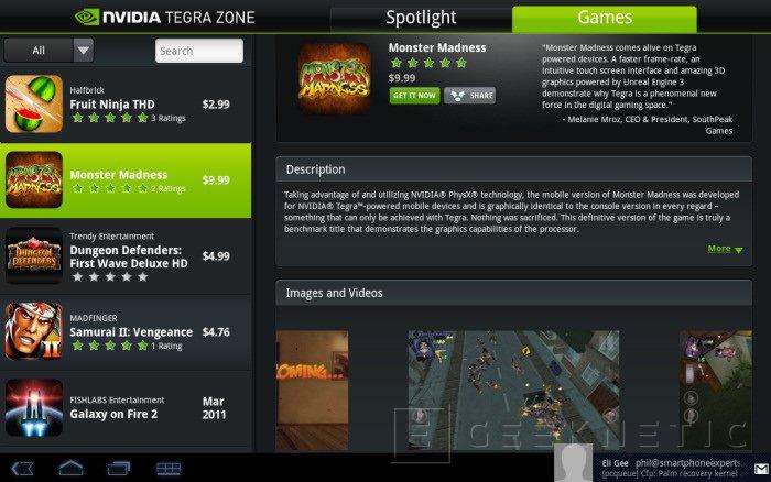 CeBit 2011: Nvidia Tegra Zone, Imagen 1
