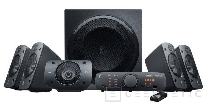 """Logitech """"jubila"""" los Z-5500 con los nuevos Surround Sound Speaker Z906, Imagen 2"""
