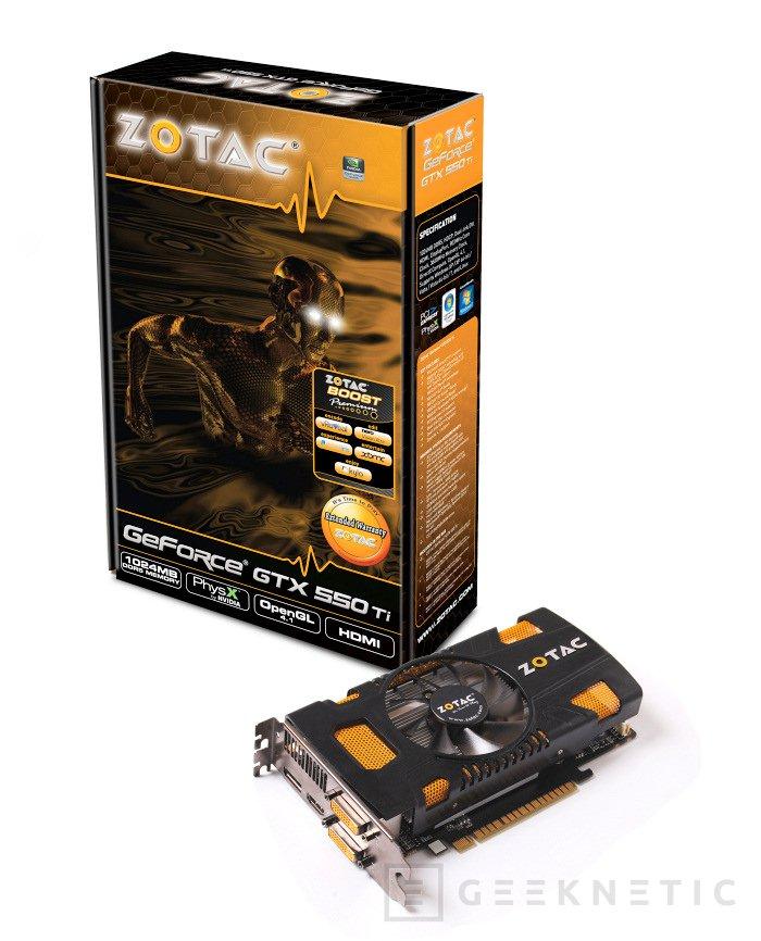 Zotac ofrecerá dos versiones de Geforce GTX 550Ti, Imagen 1