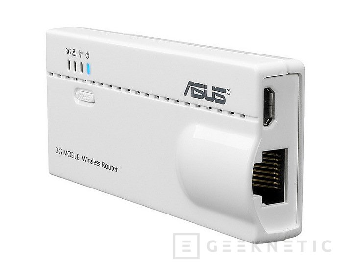 ASUS WL-330N3G. Router 3G de bolsillo, Imagen 1