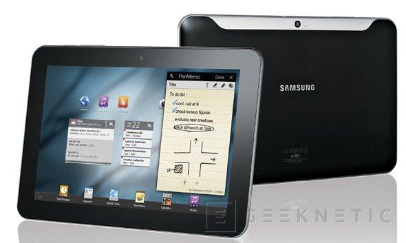 Samsung contraataca a pocos días del lanzamiento del iPad2, Imagen 1