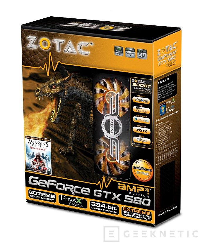 Zotac reinicia su GTX 580 con la nueva AMP2!, Imagen 3