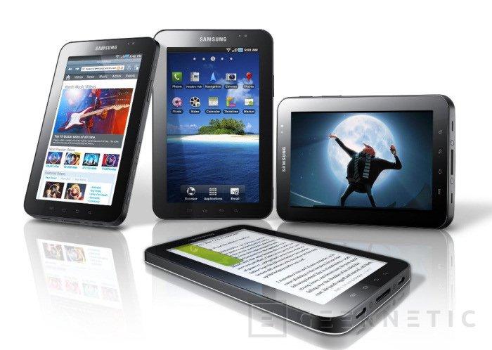 Samsung Galaxy Tab Wifi en España, Imagen 1