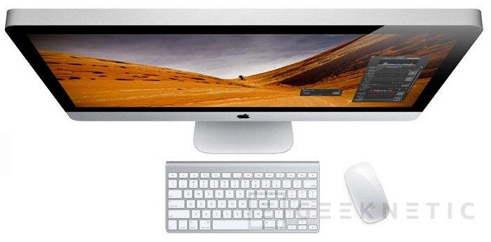 Apple actualiza los iMac, Imagen 1