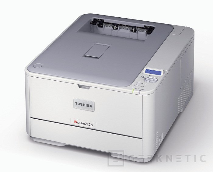 Nuevos equipos de impresión A4 de Toshiba, Imagen 1