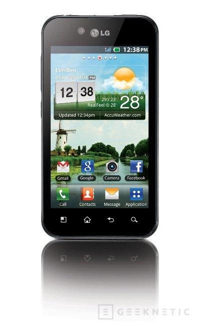 LG presentó hoy su Optimus Black, Imagen 1