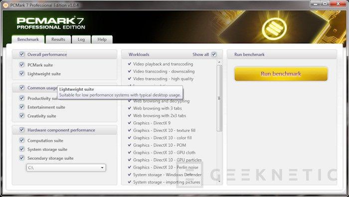 PCMark 7 ya disponible, Imagen 1