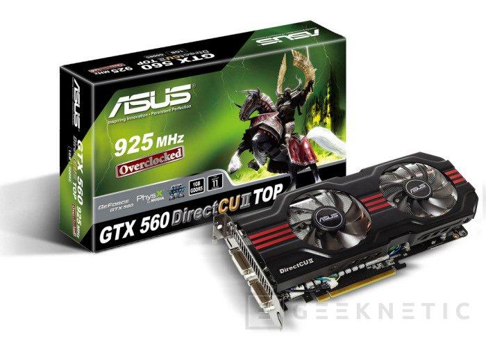 Versiones DirectCu de ASUS con Geforce GTX 560, Imagen 1